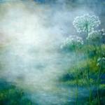 vild gulerod i tåge  70x80