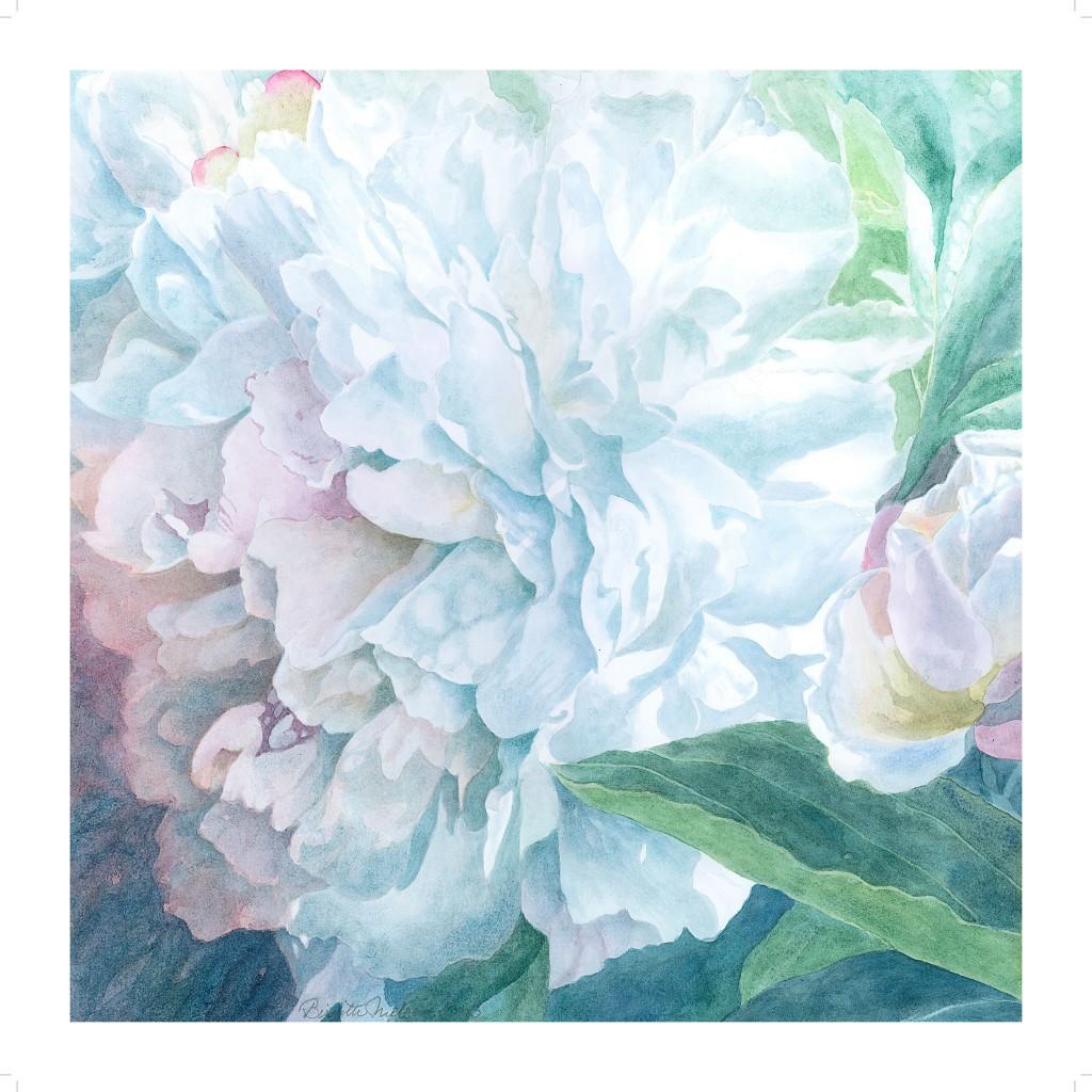 Peon akvarel af kunstmaler Birgitte Nielsen - plakat til salg